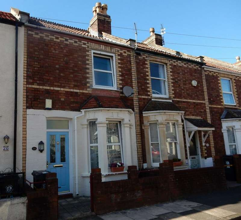 2 Bedrooms Terraced House for sale in Dunkirk Road, Fishponds BS16 3DJ