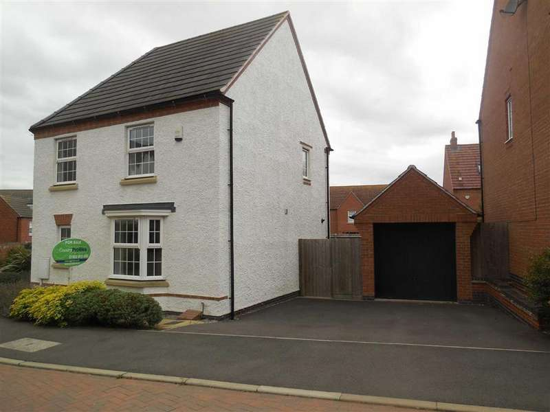4 Bedrooms Detached House for sale in Jubilee Way, Burbage