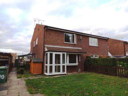 1 Bedroom Semi Detached House for sale in Penney Close, Wigston, Leicester, Leicestershire