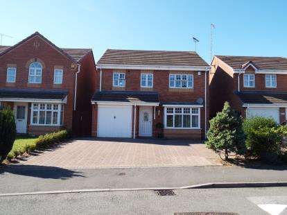 4 Bedrooms Detached House for sale in Bardley Drive, Radford, Coventry, West Midlands