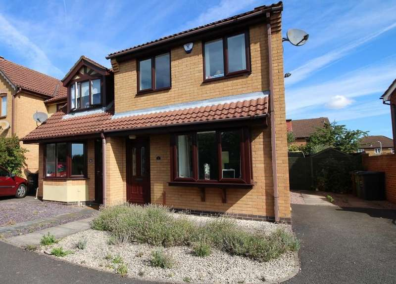 3 Bedrooms End Of Terrace House for sale in Aspen Avenue, Loughborough