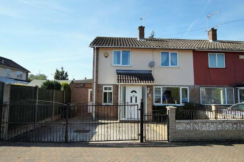 3 Bedrooms Semi Detached House for sale in Linnet Close, Lincoln
