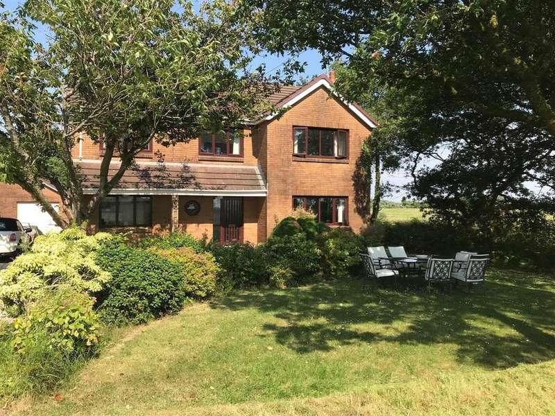 5 Bedrooms Detached House for sale in Heol Gelli Fawr, Five Roads, Llanelli