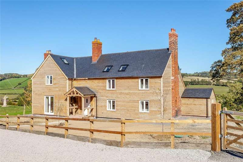 4 Bedrooms Detached House for sale in Upper Pen Y Gelli Farm, Kerry, Powys