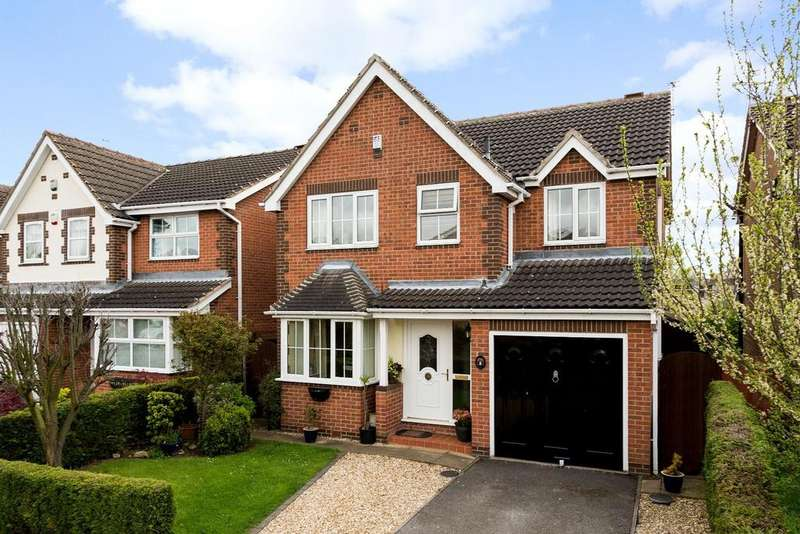 4 Bedrooms Detached House for sale in Oak Tree Avenue, Gainsborough