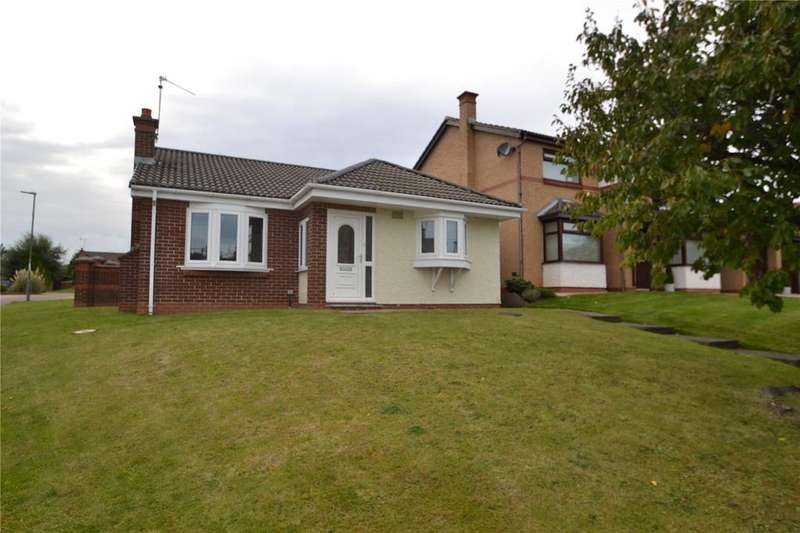 2 Bedrooms Detached Bungalow for sale in Carrock Close, Peterlee, Co Durham, SR8