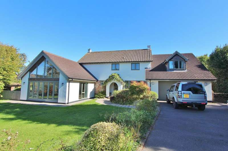 4 Bedrooms Detached House for sale in Country house in Burrington village