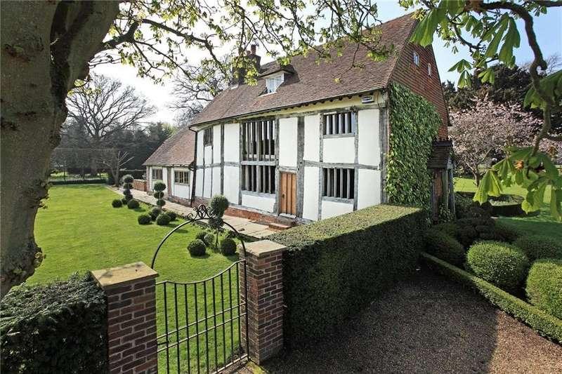 4 Bedrooms Detached House for sale in Lower Haysden Lane, Tonbridge, TN11