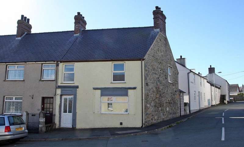 3 Bedrooms End Of Terrace House for sale in Bodorgan Square, Aberffraw, North Wales