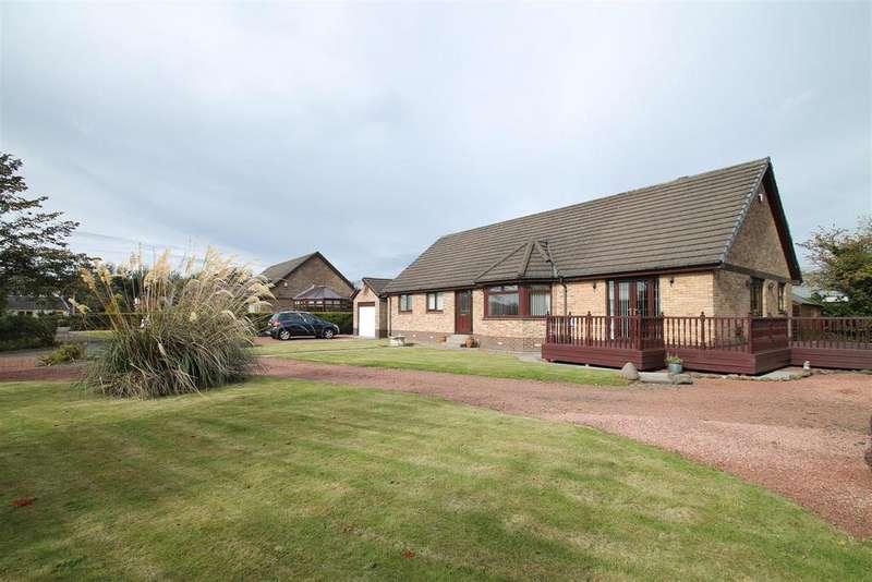 3 Bedrooms Detached Bungalow for sale in Kilpunt Gardens, Broxburn