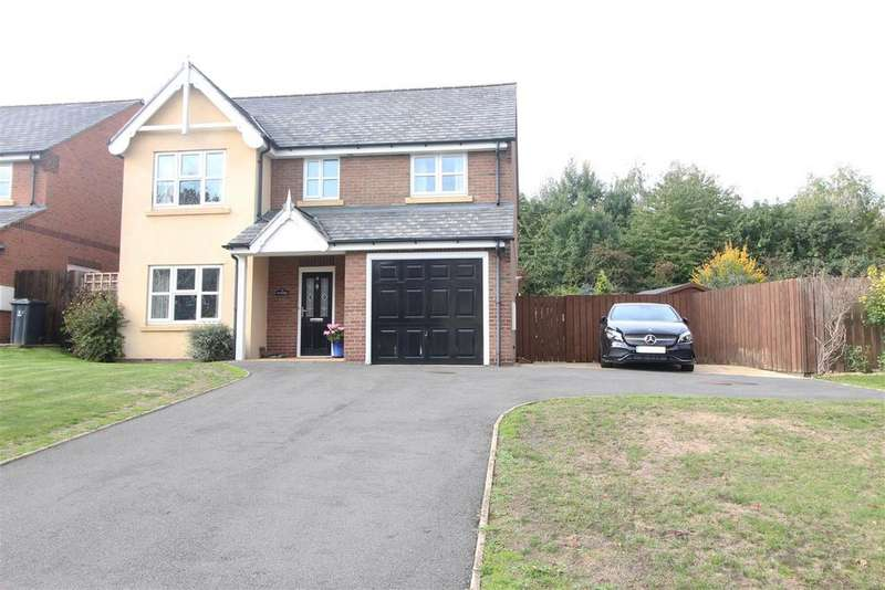 4 Bedrooms Detached House for sale in Nursery Meadows, Shrewsbury