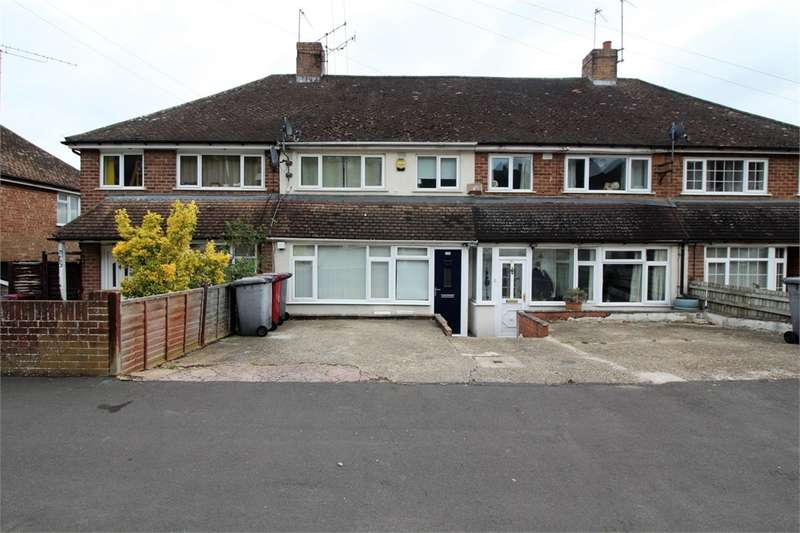 3 Bedrooms Terraced House for sale in Thirlmere Avenue, Tilehurst, READING, Berkshire