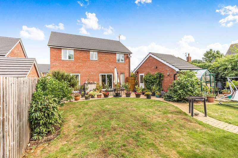 4 Bedrooms Detached House for sale in Orchard Close, Fernhill Heath, Worcester, WR3
