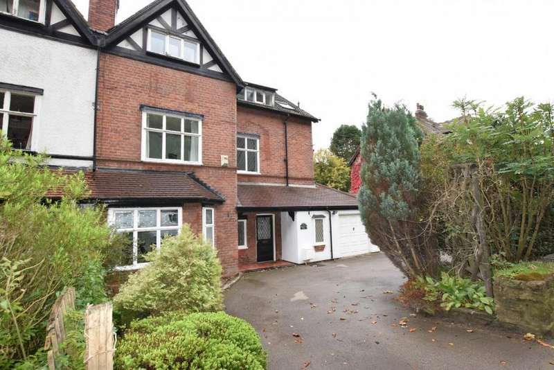 6 Bedrooms Semi Detached House for sale in Buxton Road West, Disley, Stockport
