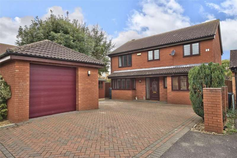 4 Bedrooms Detached House for sale in Lottings Way, Eaton Ford, St Neots, Cambridgeshire