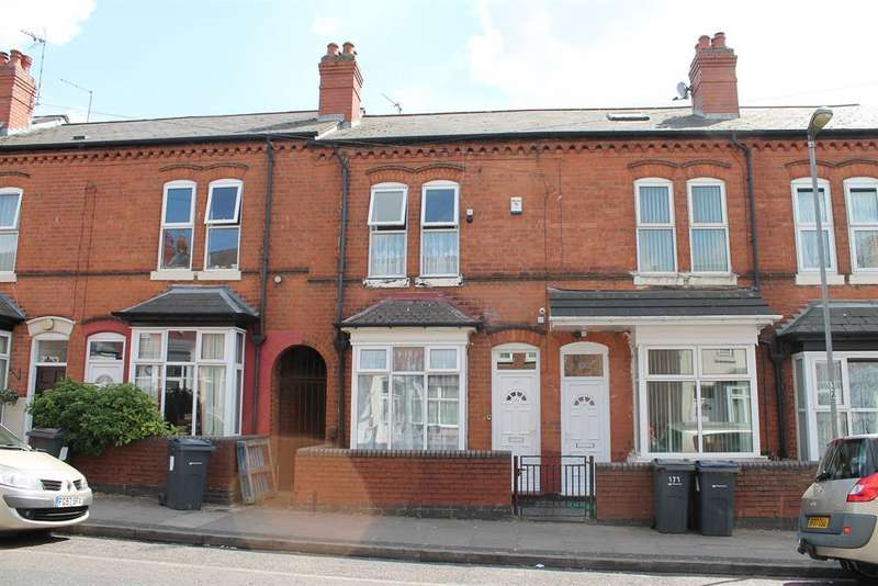 3 Bedrooms Terraced House for sale in Newcombe Road, Handsworth, Birmingham, B21 8BD