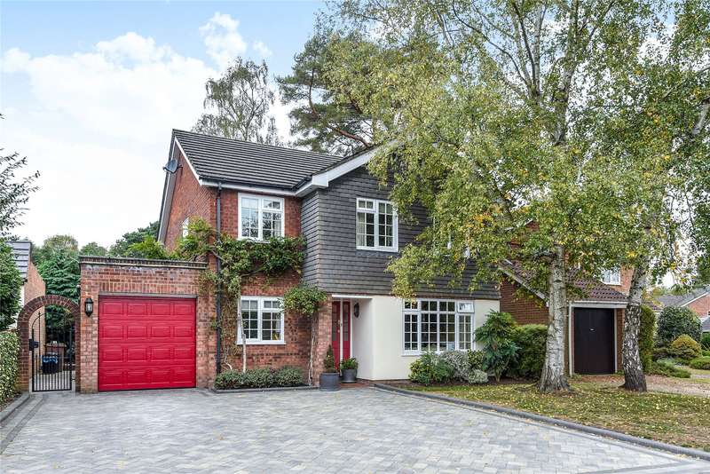 4 Bedrooms Detached House for sale in Gorse Ride North, Finchampstead, Wokingham, Berkshire, RG40