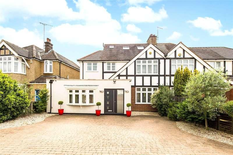 4 Bedrooms Semi Detached House for sale in Gurney Court Road, St. Albans, Hertfordshire, AL1