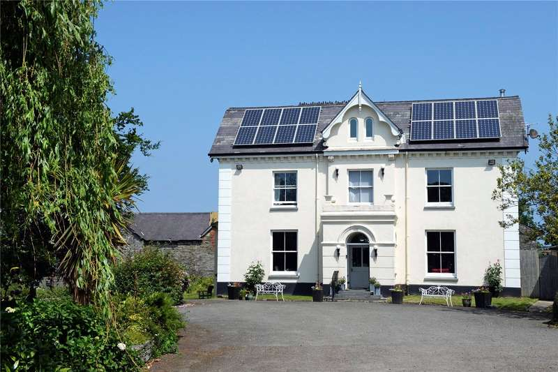 6 Bedrooms Hotel Commercial for sale in Caemorgan Mansion, Caemorgan Road, Cardigan, Sir Ceredigion