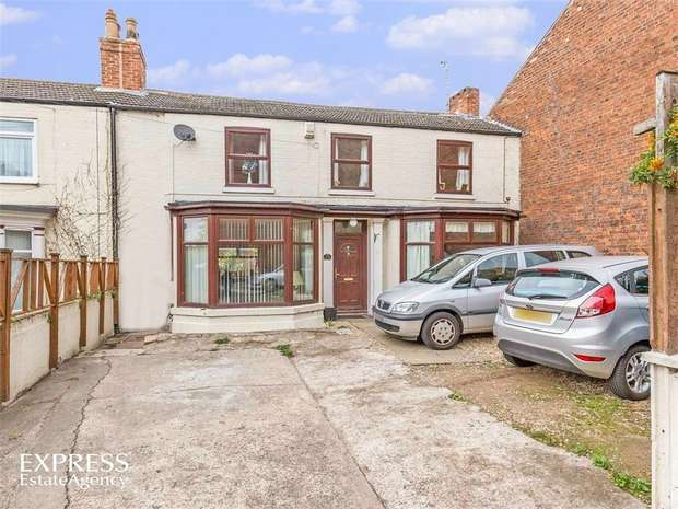 4 Bedrooms End Of Terrace House for sale in Spring Gardens, Gainsborough, Lincolnshire