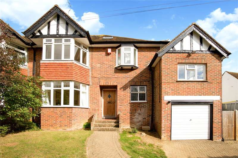 5 Bedrooms Semi Detached House for sale in Valley Drive, Brighton, East Sussex, BN1