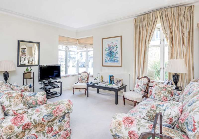 2 Bedrooms Apartment Flat for sale in Oak Lodge, Kensington Green, London, W8
