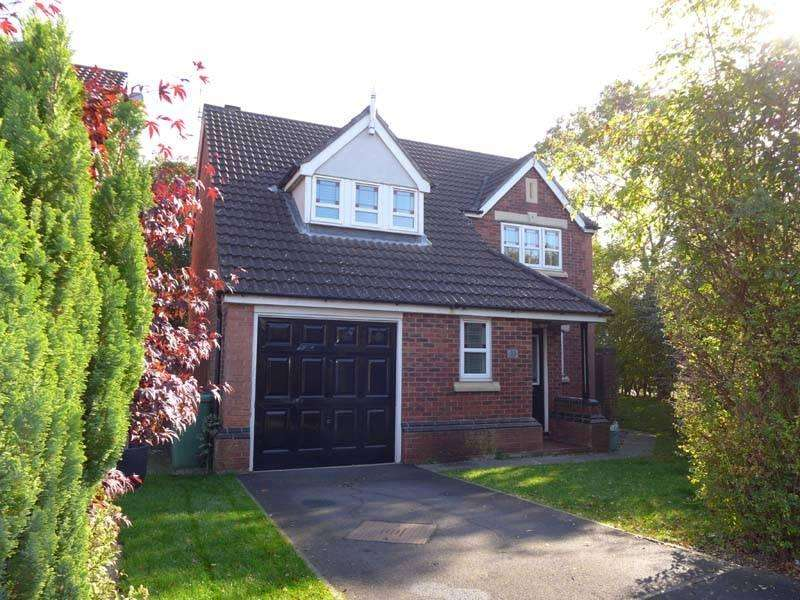 4 Bedrooms Detached House for sale in Caernarfon Close