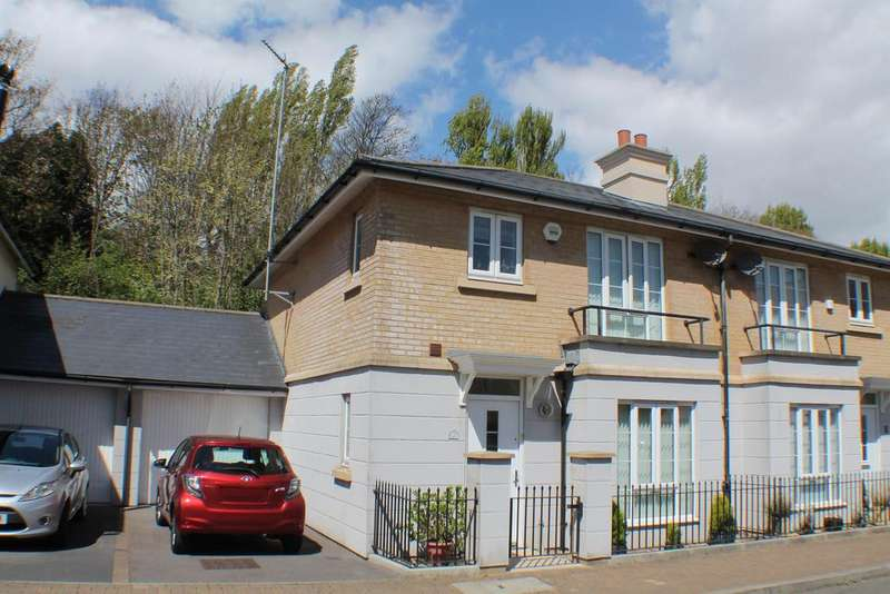 3 Bedrooms Semi Detached House for sale in Watch House Place, Portishead, North Somerset