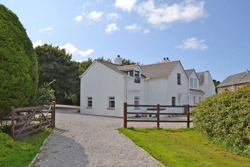 7 Bedrooms Detached House for sale in Mithian Downs, St Agnes, Nr. Truro, Cornwall