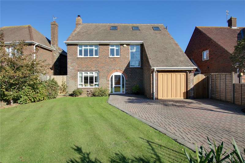 4 Bedrooms Detached House for sale in Chelwood Avenue, Goring By Sea, Worthing, BN12