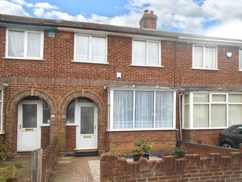 3 Bedrooms Terraced House for sale in Acacia Road, Bedford, Bedfordshire, MK42 0HT