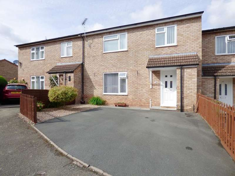 3 Bedrooms Semi Detached House for sale in John Tarrant Close, Newton Farm, Hereford