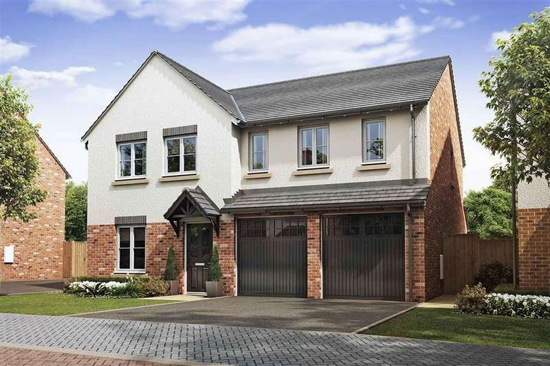 5 Bedrooms Detached House for sale in Caddies Field, Wellington, Telford