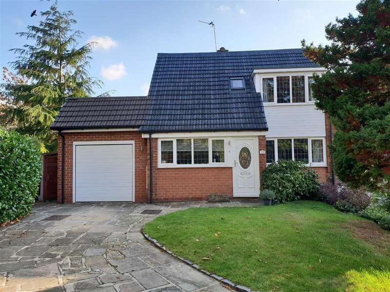 3 Bedrooms Detached House for sale in Tranmere Drive, Handforth