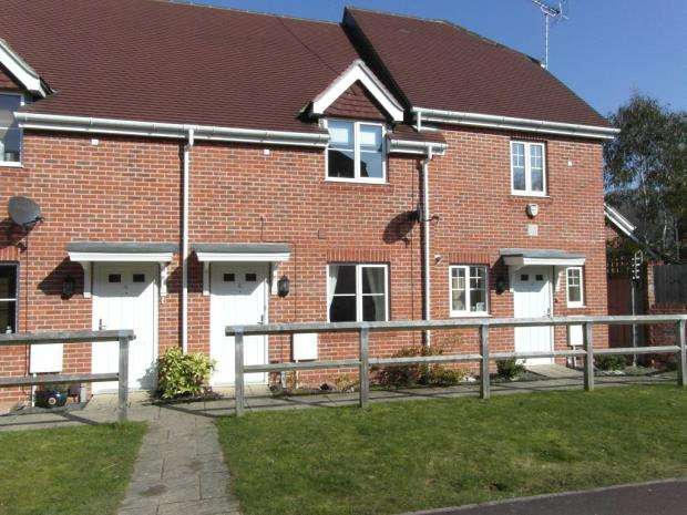 2 Bedrooms Terraced House for sale in Thegn Walk, Elvetham Heath, Hampshire