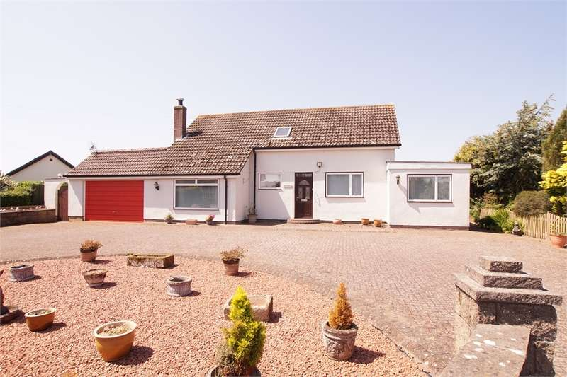 4 Bedrooms Detached Bungalow for sale in CA7 4JJ Blitterlees, Silloth, Cumbria