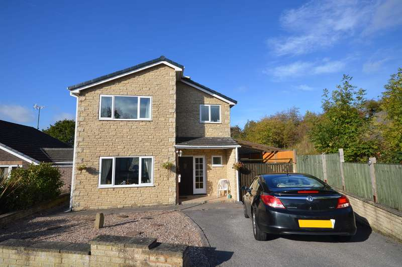 3 Bedrooms Detached House for sale in Rushen Mount, Chesterfield, S40 2JU