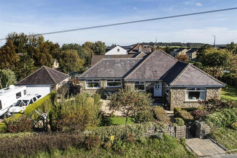 4 Bedrooms Detached Bungalow for sale in Lindley Moor Road, Huddersfield