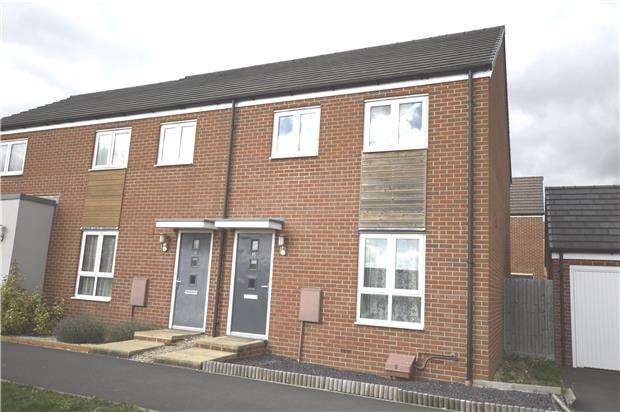 3 Bedrooms End Of Terrace House for sale in Sparrowbill Way, Patchway, Bristol, BS34 5AZ