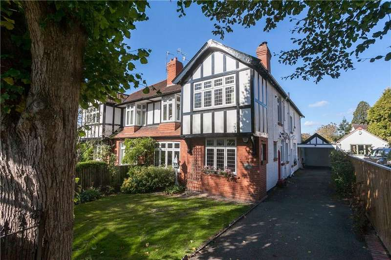 4 Bedrooms Semi Detached House for sale in The Avenue, Sneyd Park, Bristol, BS9