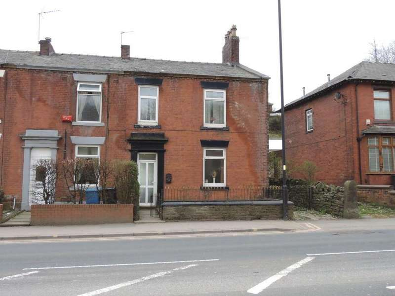 4 Bedrooms Terraced House for sale in Huddersfield Road, Oldham, Greater Manchester, OL4 2EX