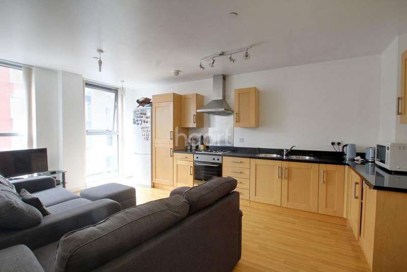2 Bedrooms Flat for sale in The Chimney, Leicester City Centre