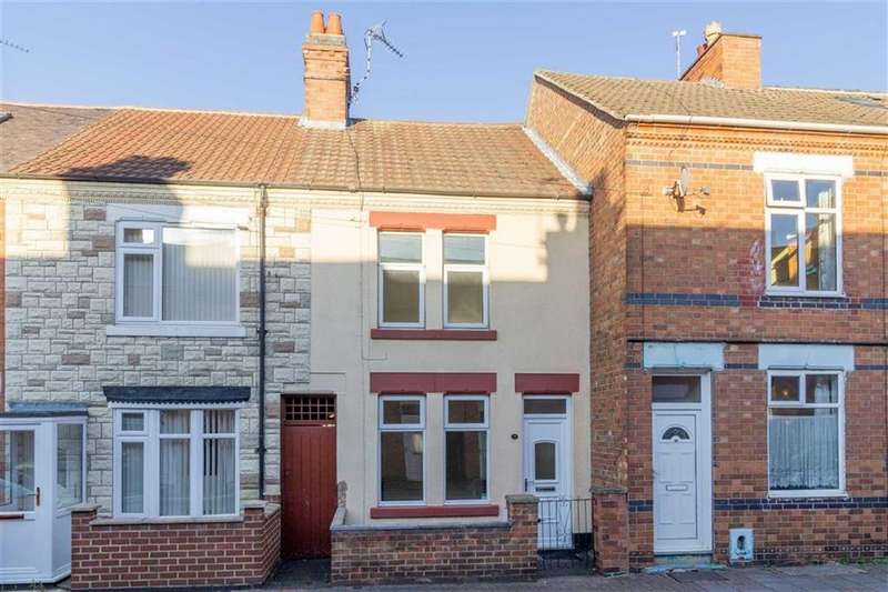 2 Bedrooms Terraced House for sale in Lower Cambridge Street, Loughborough, LE11