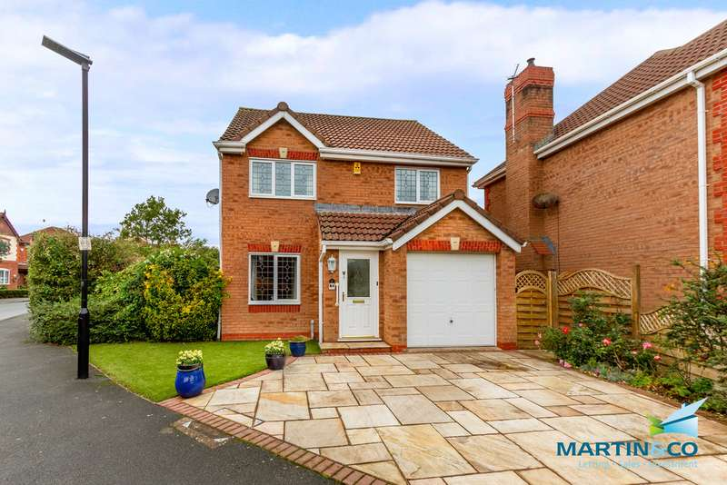 3 Bedrooms Detached House for sale in Cathrow Way, Thornton FY5