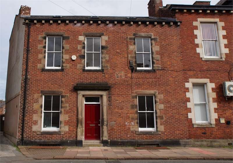 5 Bedrooms End Of Terrace House for sale in CA1 1PQ Wilfred Street, Carlisle, Cumbria