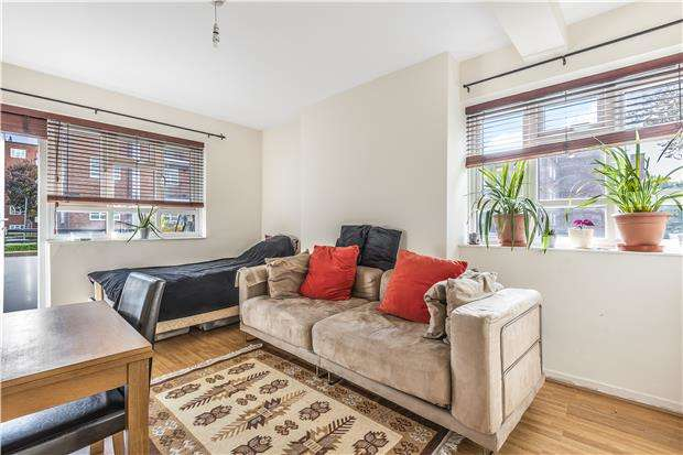 2 Bedrooms Flat for sale in Busby House, Aldrington Road, London, SW16