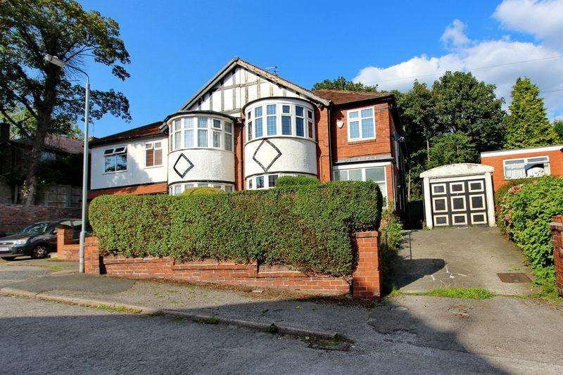 4 Bedrooms Semi Detached House for sale in Stobart Avenue, Prestwich, Manchester
