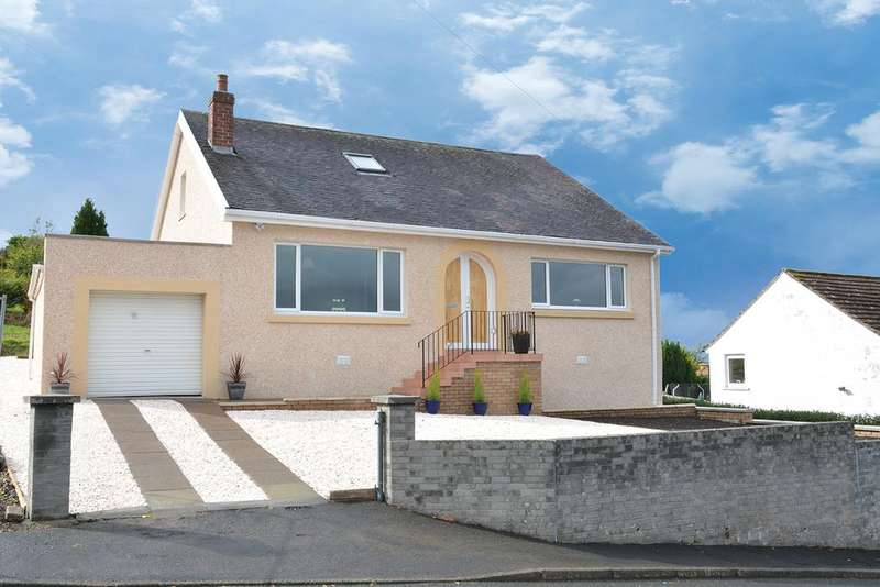 4 Bedrooms Detached Bungalow for sale in 42 Middlepenny Road, Langbank, PA14 6XE