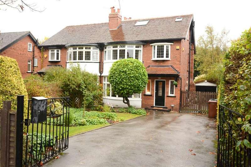 5 Bedrooms Semi Detached House for sale in Davies Avenue, Roundhay, Leeds