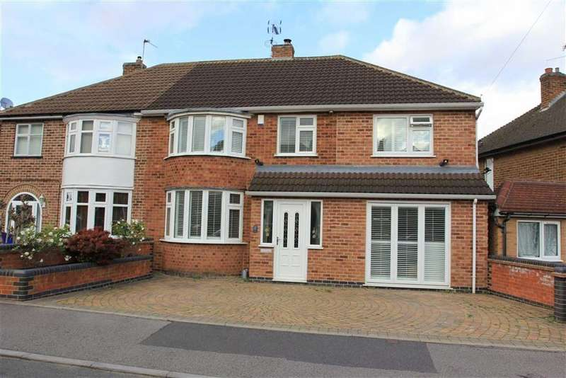 4 Bedrooms Semi Detached House for sale in Stonehurst Road, Braunstone, Leicester